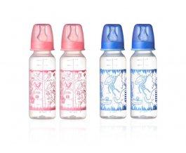 TT kojenecká láhev 2 ks 250ml 3m+ Basic