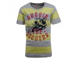 Tričko s krátkým rukávem GLO-STORY 4722 žluté