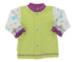 Kojenecký kabátek EWA SAFARI - zelený