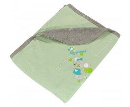 Bavlněná deka EWA - MOUSE zelená