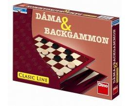 Dáma a Backammon hra