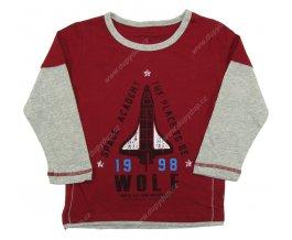 Chlapecké tričko WOLF S2431 vínové