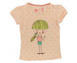 Dívčí triko WOLF S 2521 meruňkové