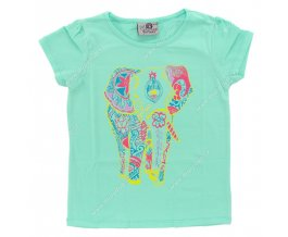 Dívčí triko ARTENA sv. zelené