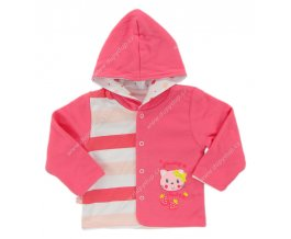 Kojenecký kabátek EWA CITY - růžový
