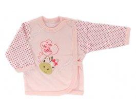 Kojenecká košilka EWA SWEET růžová