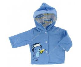 Kojenecký kabátek EWA CIRCUS modrý