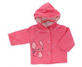 Kojenecký kabátek EWA CIRCUS růžový
