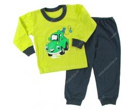Chlapecké pyžamo Good night sv. zelená