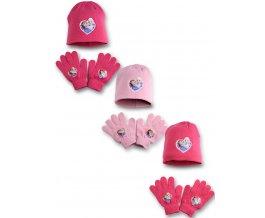Dívčí set rukavice a čepice Frozen