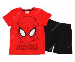 Chlapecké pyžamo SPIDER MAN červené
