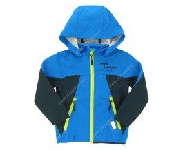 Dětská softshellová bunda WOLF B2664 modrá