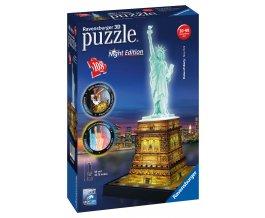 Socha Svobody 3D Puzzle (Noční edice) 108d
