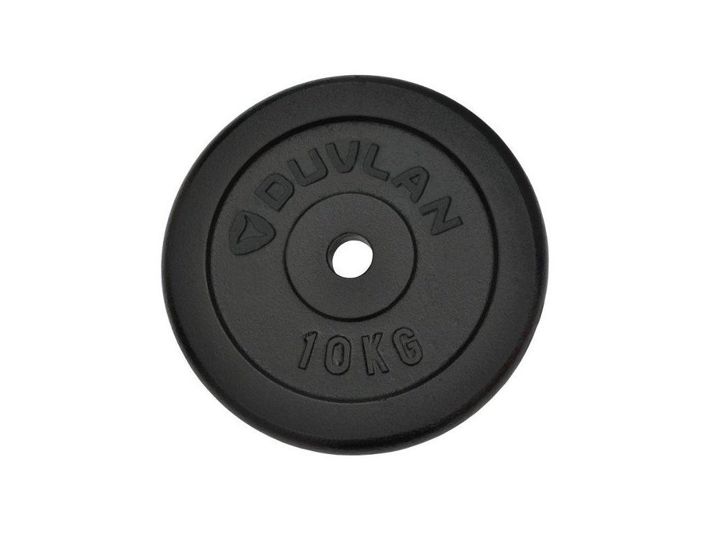Závaží DUVLAN 10 kg ocelové
