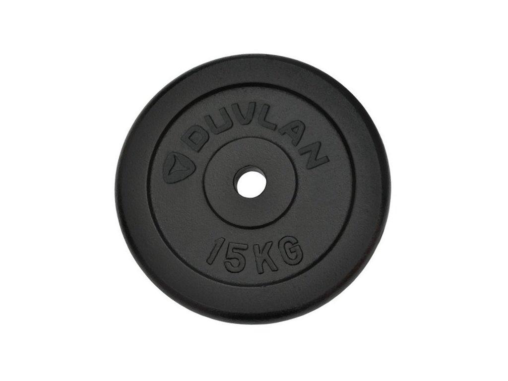 Závaží DUVLAN 15 kg ocelové