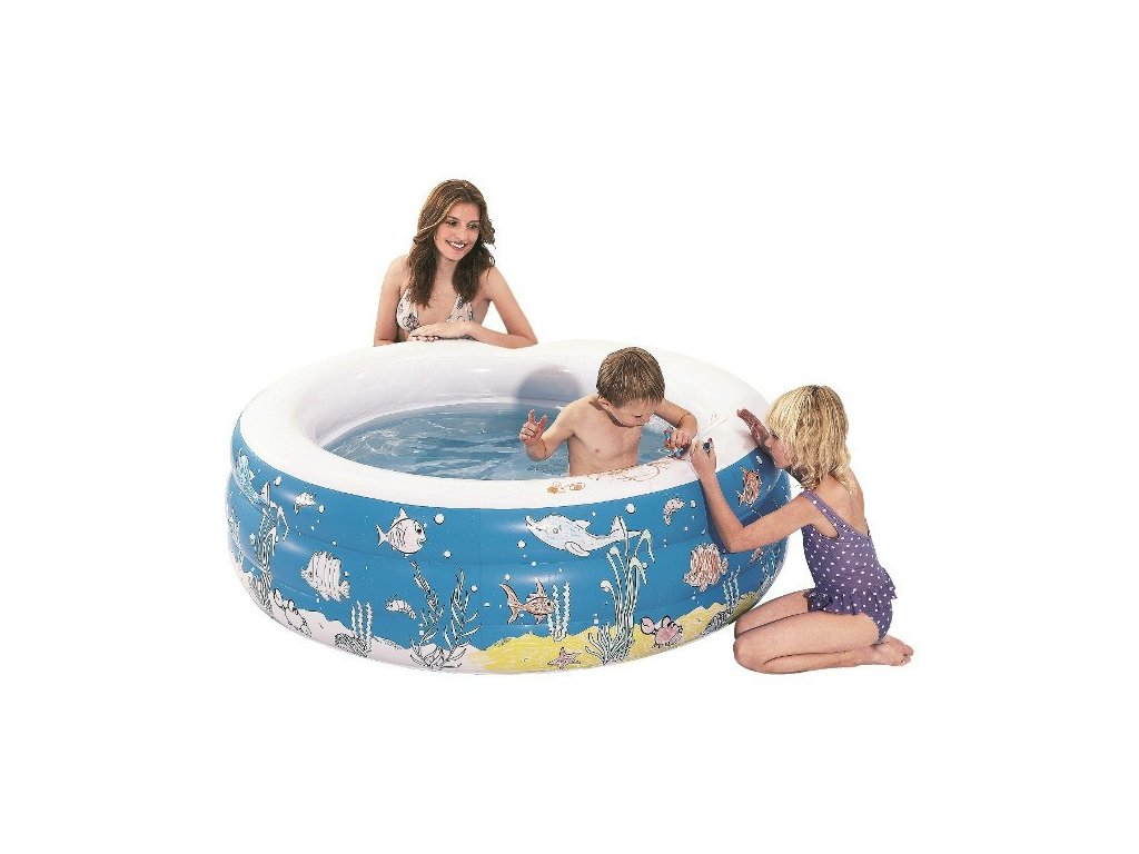 Dětský nafukovací bazén Doodle 3-Ring 152 x 50 cm