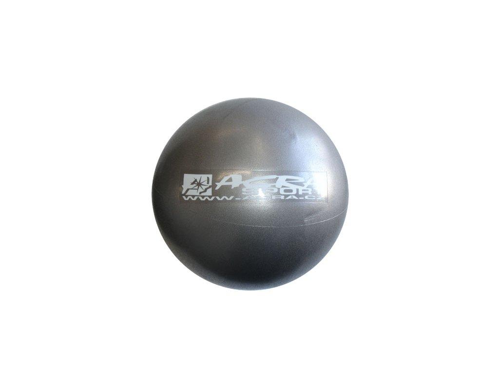 Overball ACRA 26 cm - stříbrná