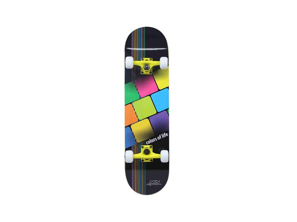 Skateboard Nils Extreme CR 3108 SB Color of  Life