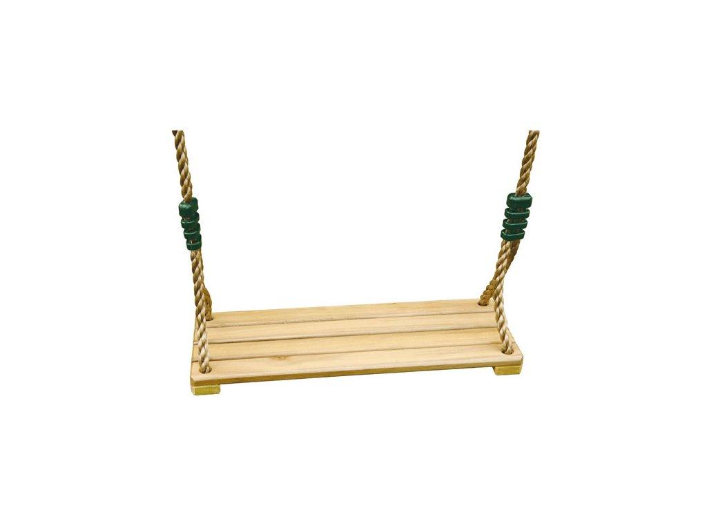 Dřevěná sedačka Trigano pro houpačky Oliver a Baxter