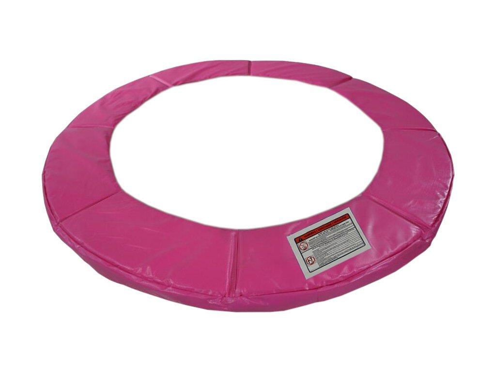 Ochranný kryt pružín na trampolínu DUVLAN FunJump Pink 244 cm