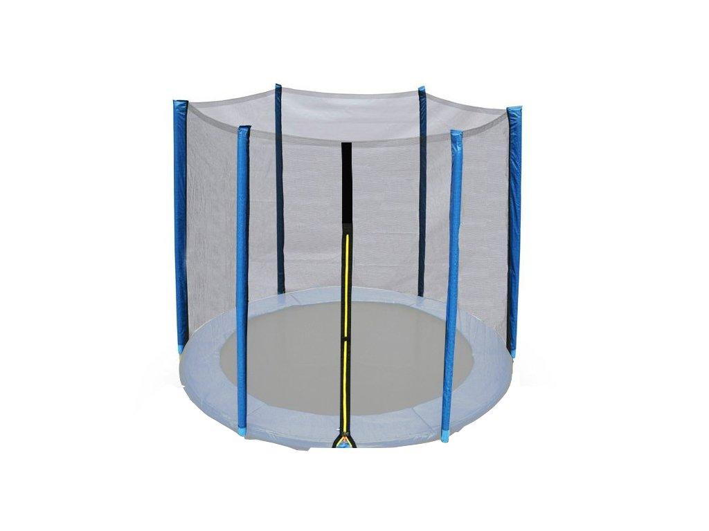 Ochranná síť na trampolínu DUVLAN FunJump Blue 244 cm