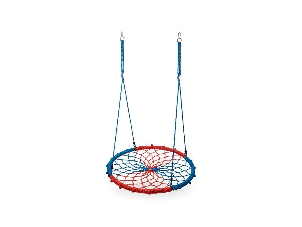Kruhová houpačka Nils Camp NB5039 modrá-červená