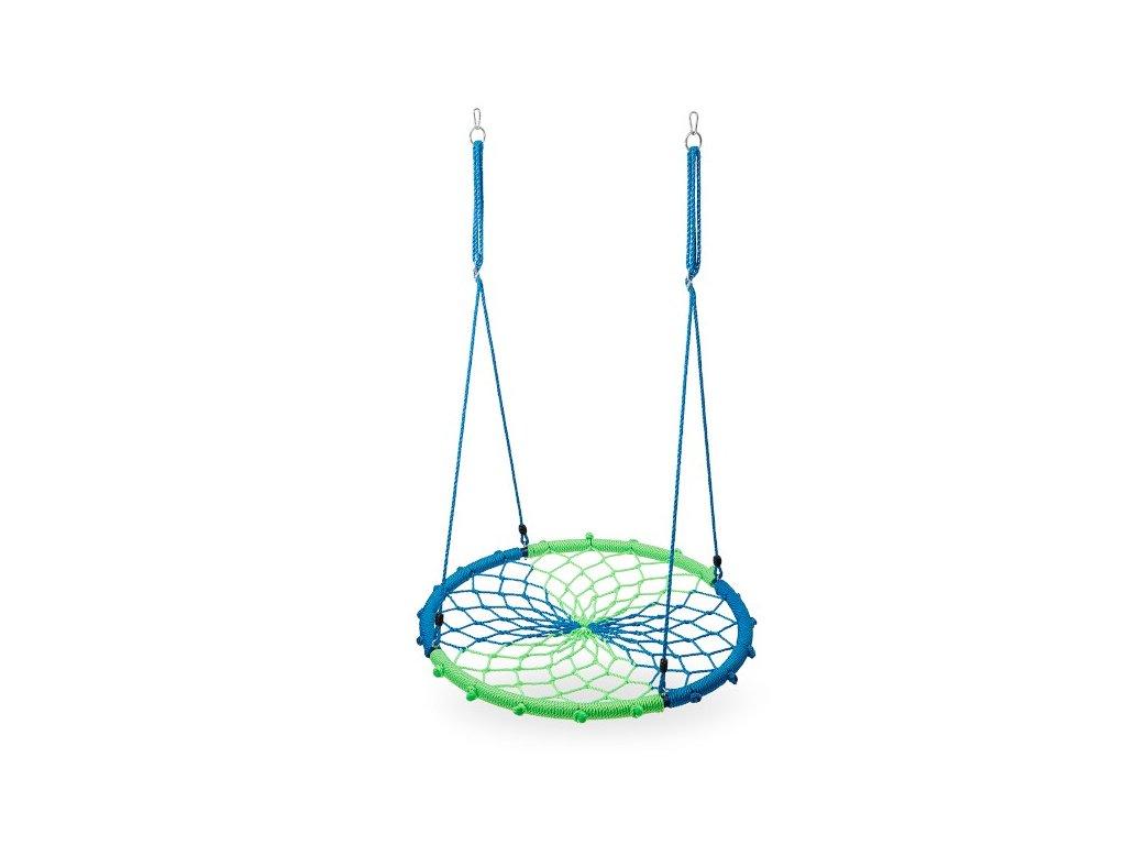 Kruhová houpačka Nils Camp NB5039 modrá-zelená