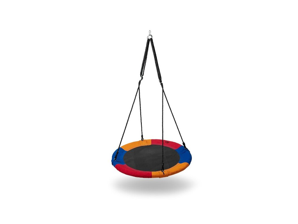 Kruhová houpačka Nils Camp NB5003 modrá-červená-oranžová