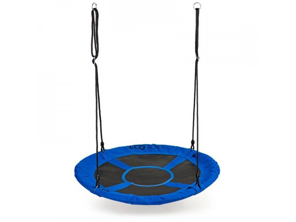 Závěsný houpací kruh Ecotoys MIR6001 100 cm modrá