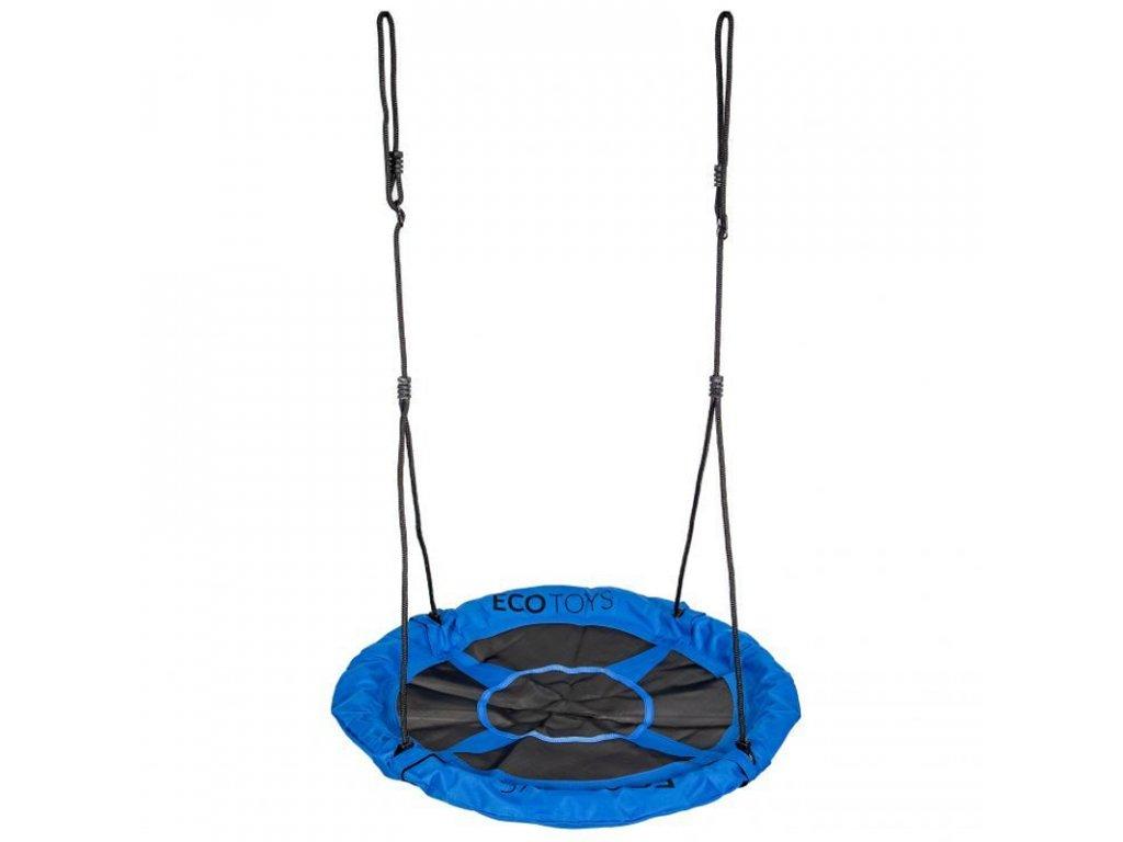 Závěsný houpací kruh Ecotoys BOC110 110 cm modrá