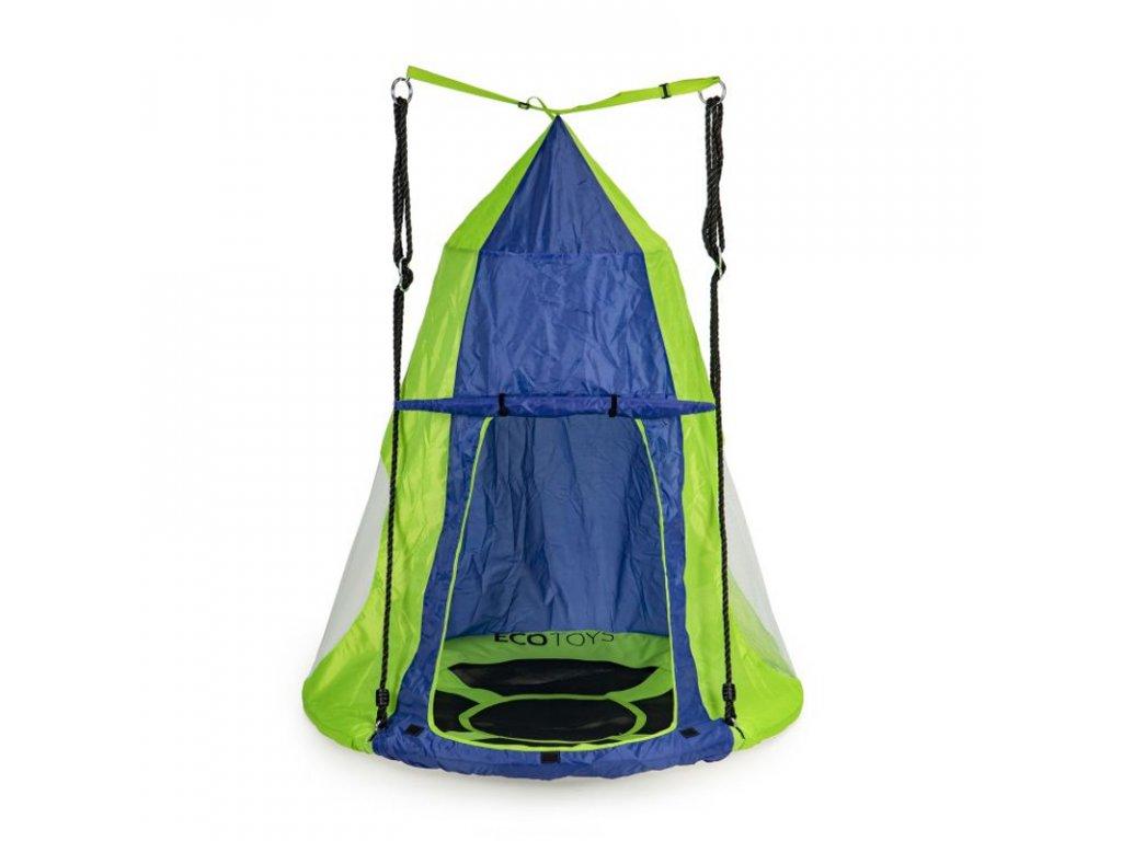 Stan pro závěsný houpací kruh Ecotoys MIR6001 modro-zelený