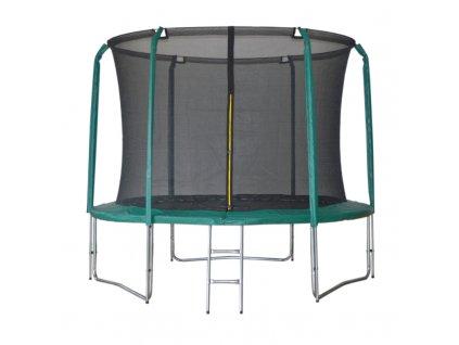 Trampolína DUVLAN SkyJump 305 cm + vnitřní síť + schůdky