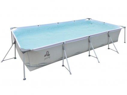 Bazén Steel Frame Pool 394 x 207 x 80 cm – set
