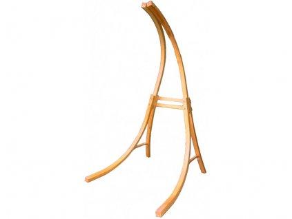 Dřevěný stojan DUVLAN pro houpací sedačky