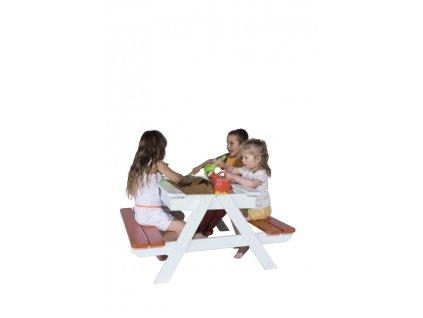 Dětské pískoviště a piknikový stůl Trigano Picsand