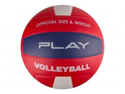 Volejbalový míč PLAY II červený vel.5