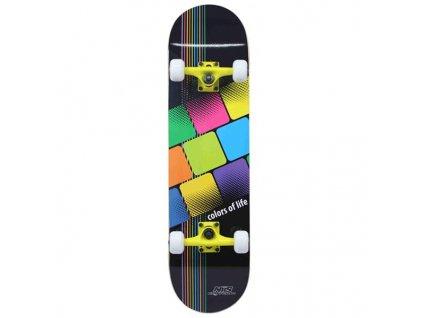 Skateboard Nils Extreme CR 3108 SB Color of  Life