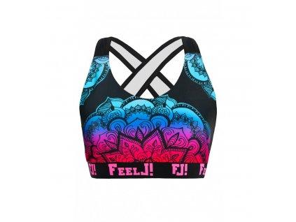 Športová podprsenka FeelJ! Mandala (Veľkosť S)