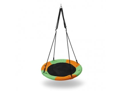 Kruhová houpačka Nils Camp NB5003 oranžová-zelená