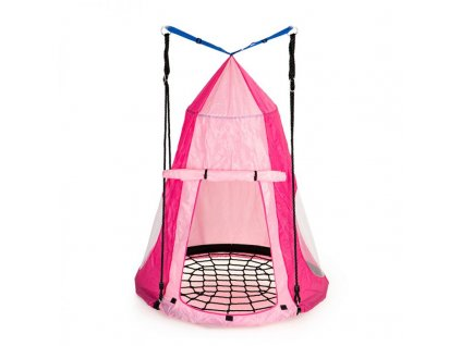 Stan pro závěsný houpací kruh Ecotoys MIR6001 růžový