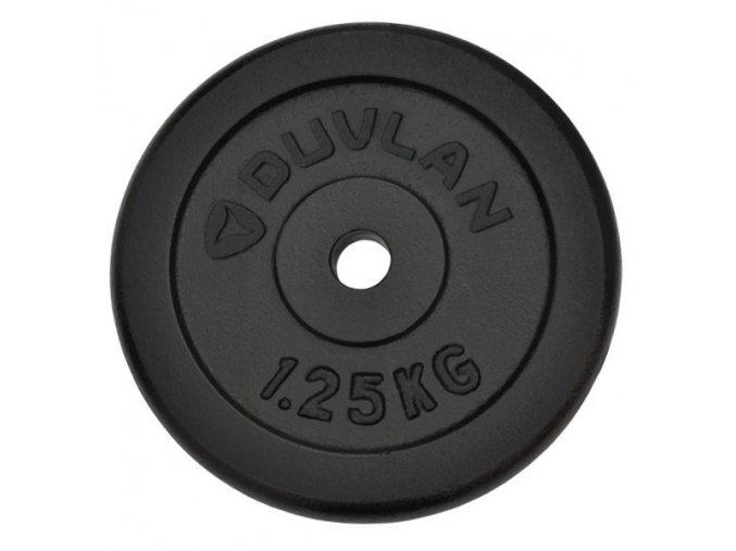 Závaží DUVLAN 1,25 kg ocelové
