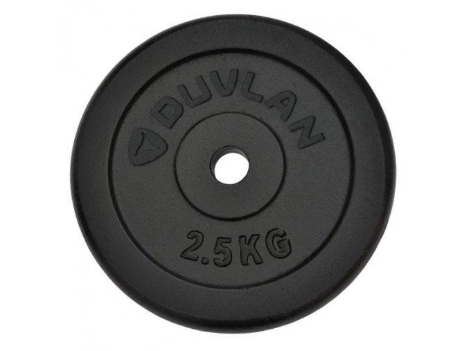 Závaží DUVLAN 2,5 kg ocelové