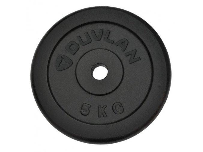 Závaží DUVLAN 5 kg ocelové