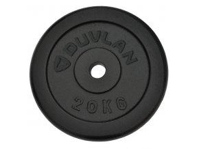 Závaží DUVLAN 20 kg ocelové
