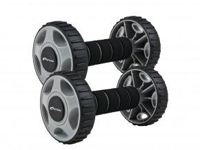 posilovací váleček Spokey Double Wheel