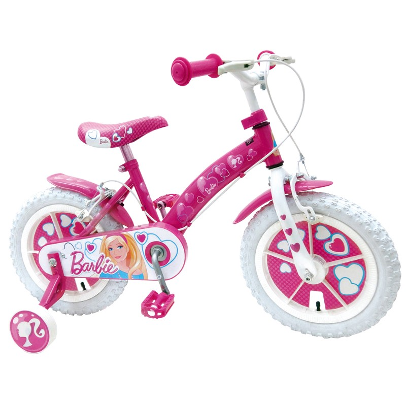 Schiano Barbie 14 dětské kolo růžová