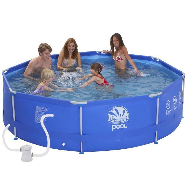 Bazén Steel Frame Pool 300 x 76 cm + filtrace