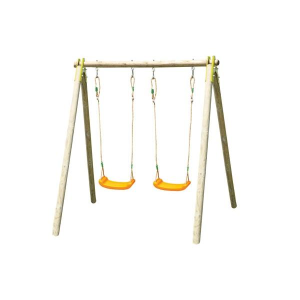 Dětská dřevěná houpačka Trigano Alfy