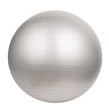 Gymnastický míč DUVLAN 75 cm + pumpa Barva: stříbrná