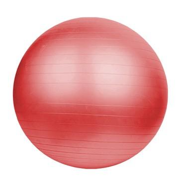 Gymnastický míč DUVLAN 75 cm + pumpa Barva: červená